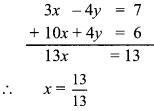 Maharashtra Board Class 9 Maths Solutions Chapter 5 Linear Equations in Two Variables Problem Set 5 1