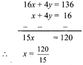 Maharashtra Board Class 9 Maths Solutions Chapter 5 Linear Equations in Two Variables Problem Set 5 4