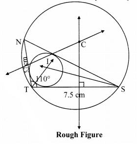 Maharashtra Board Class 9 Maths Solutions Chapter 6 Circle Problem Set 6 7