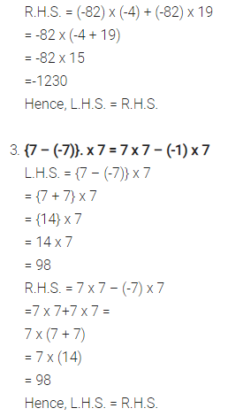 Selina Concise Mathematics Class 7 ICSE Solutions Chapter 1 Integers Ex 1A 4
