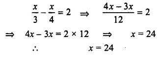 Selina Concise Mathematics Class 7 ICSE Solutions Chapter 12 Simple Linear Equations Ex 12C 58