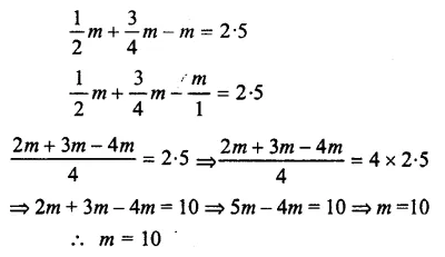 Selina Concise Mathematics Class 7 ICSE Solutions Chapter 12 Simple Linear Equations Ex 12C 61