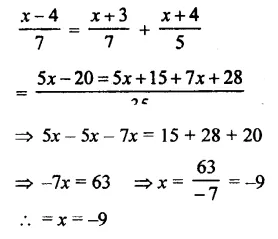 Selina Concise Mathematics Class 7 ICSE Solutions Chapter 12 Simple Linear Equations Ex 12C 81