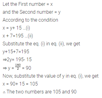Selina Concise Mathematics Class 7 ICSE Solutions Chapter 12 Simple Linear Equations Ex 12D 92