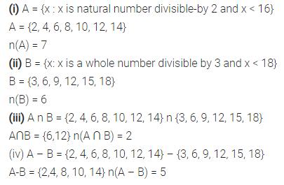 Selina Concise Mathematics Class 7 ICSE Solutions Chapter 13 Set Concepts Ex 13D 28