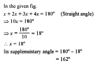 Selina Concise Mathematics Class 7 ICSE Solutions Chapter 14 Lines and Angles Ex 14A 21