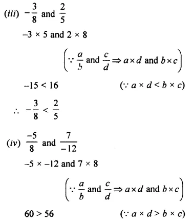 Selina Concise Mathematics Class 7 ICSE Solutions Chapter 2 Rational Numbers Ex 2B 33