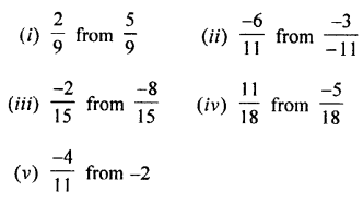Selina Concise Mathematics Class 7 ICSE Solutions Chapter 2 Rational Numbers Ex 2C Q5
