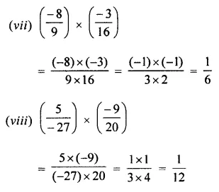 Selina Concise Mathematics Class 7 ICSE Solutions Chapter 2 Rational Numbers Ex 2D 76