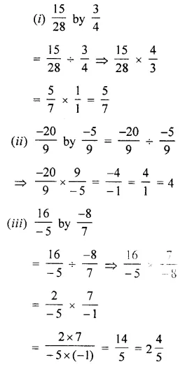 Selina Concise Mathematics Class 7 ICSE Solutions Chapter 2 Rational Numbers Ex 2D 87