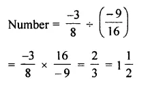 Selina Concise Mathematics Class 7 ICSE Solutions Chapter 2 Rational Numbers Ex 2D 95