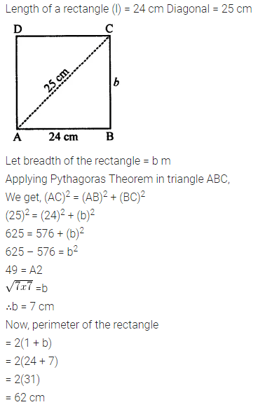 Selina Concise Mathematics Class 7 ICSE Solutions Chapter 20 Mensuration Ex 20A 6