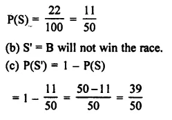 Selina Concise Mathematics Class 7 ICSE Solutions Chapter 22 Probability Ex 22B 13