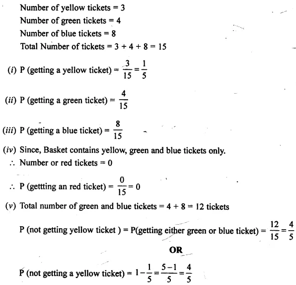 Selina Concise Mathematics Class 7 ICSE Solutions Chapter 22 Probability Ex 22B 17