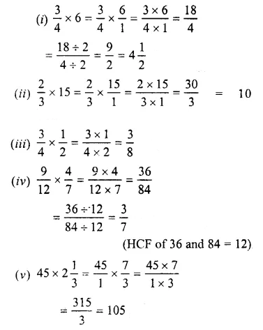 Selina Concise Mathematics Class 7 ICSE Solutions Chapter 3 Fractions (Including Problems) Ex 3C 34
