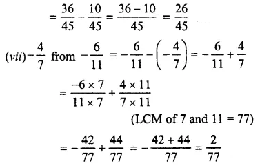Selina Concise Mathematics Class 7 ICSE Solutions Chapter 3 Fractions (Including Problems) Ex 3C 38
