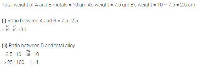 Selina Concise Mathematics Class 7 ICSE Solutions Chapter 6 Ratio and Proportion (Including Sharing in a Ratio) Ex 6A 15