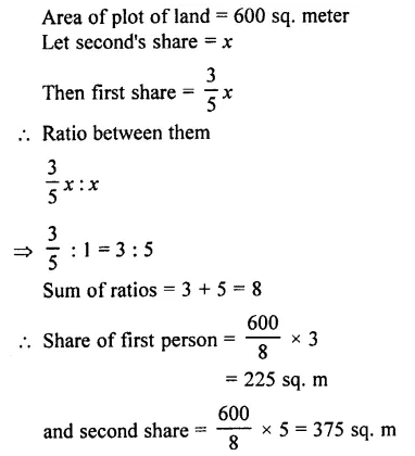 Selina Concise Mathematics Class 7 ICSE Solutions Chapter 6 Ratio and Proportion (Including Sharing in a Ratio) Ex 6A 18