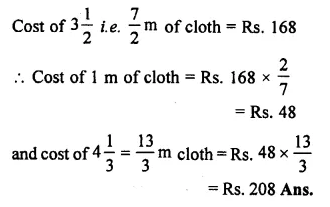 Selina Concise Mathematics Class 7 ICSE Solutions Chapter 7 Unitary Method (Including Time and Work) Ex 7B 21