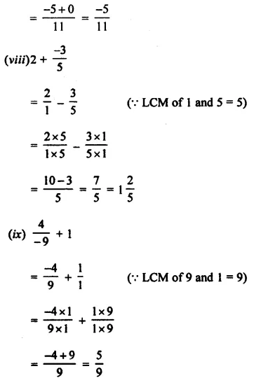 Selina Concise Mathematics Class 8 ICSE Solutions Chapter 1 Rational Numbers EX 1A 12