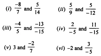 Selina Concise Mathematics Class 8 ICSE Solutions Chapter 1 Rational Numbers EX 1A 18