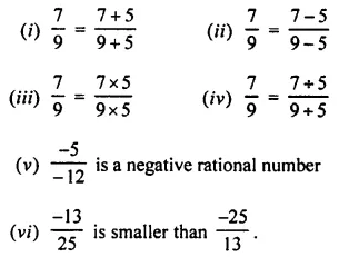 Selina Concise Mathematics Class 8 ICSE Solutions Chapter 1 Rational Numbers EX 1A 39