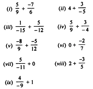 Selina Concise Mathematics Class 8 ICSE Solutions Chapter 1 Rational Numbers EX 1A 7