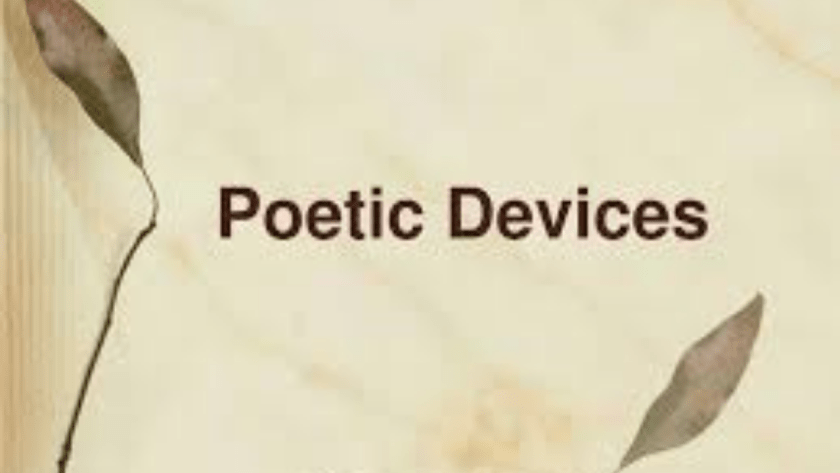 Uses of Poetic Devices