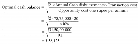 Management of Cash and Marketable Securities – Financial Management MCQ 13