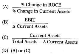 Working Capital Management – Financial Management MCQ 2