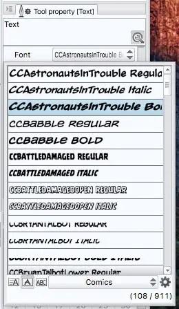 Clip Studio Paint Font List Results