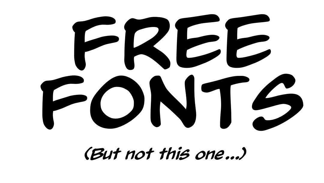 List of free fonts
