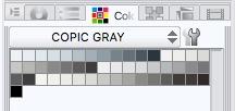 Clip Studio Paint Copic Marker Gray color set