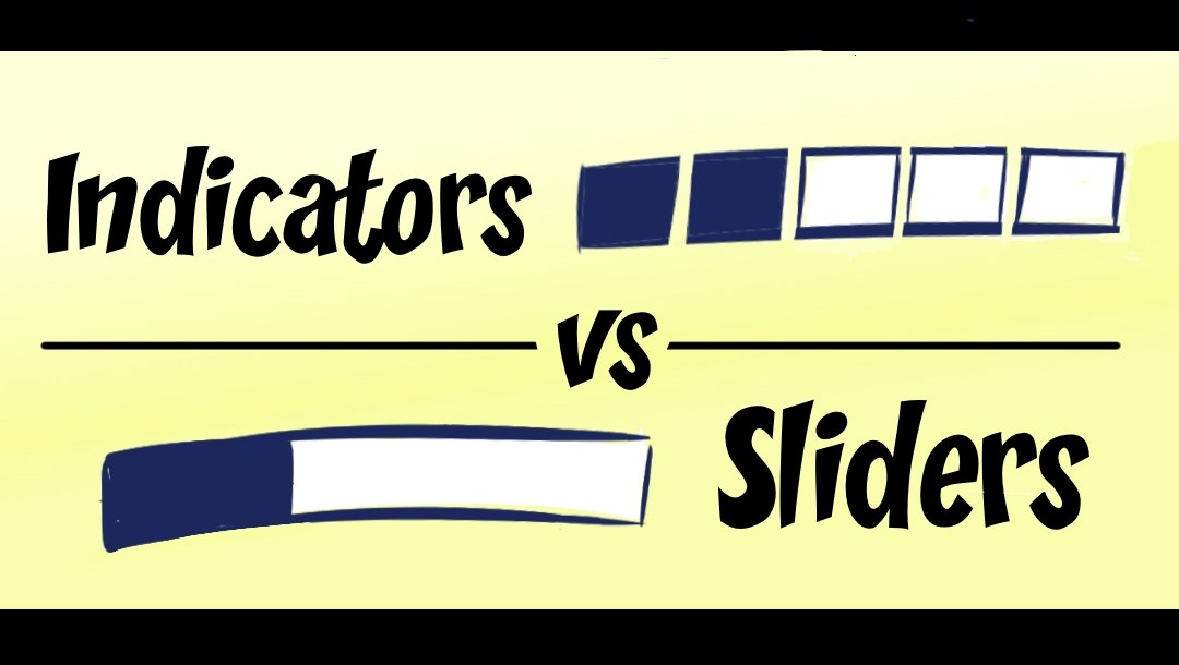 Indicators versus Sliders in Clip Studio Paint