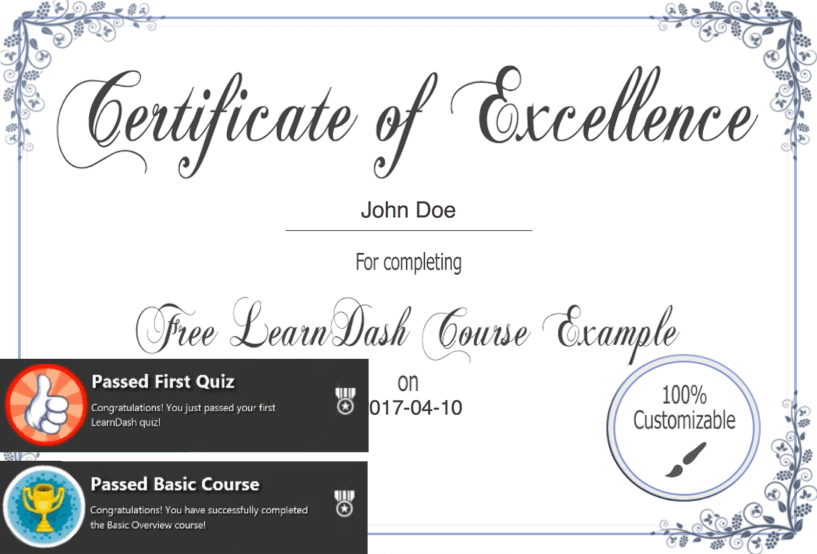 How To Create A Highly Successful Online Course- Certificates