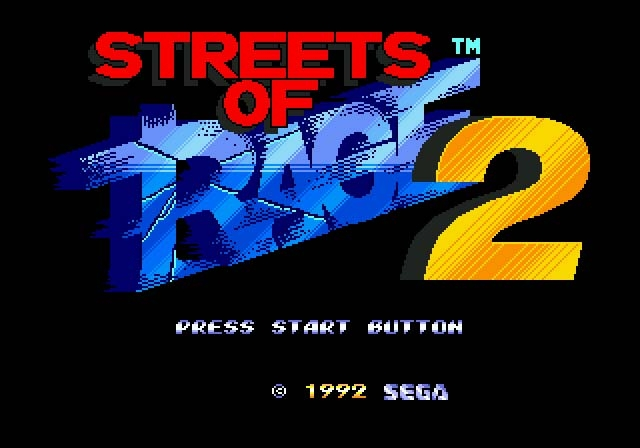 Streets Of Rage 2 Review