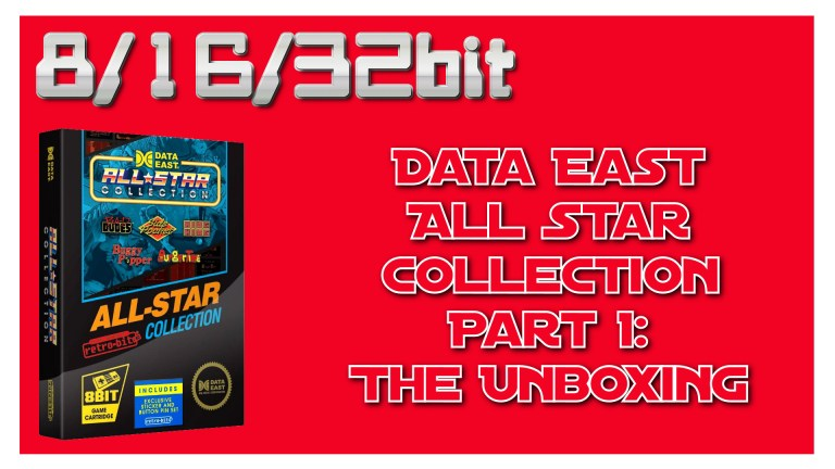 Data East All-Star Collection: 2 part video review!