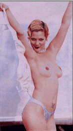 Drew Barrymore Sheer