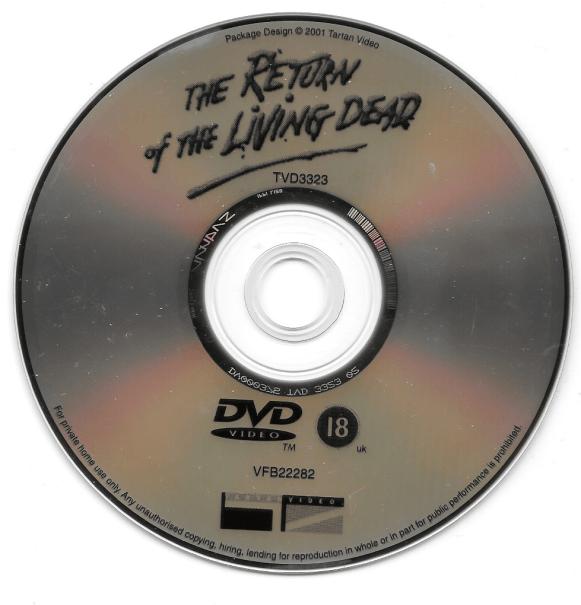 Tartan DVD, Disc.