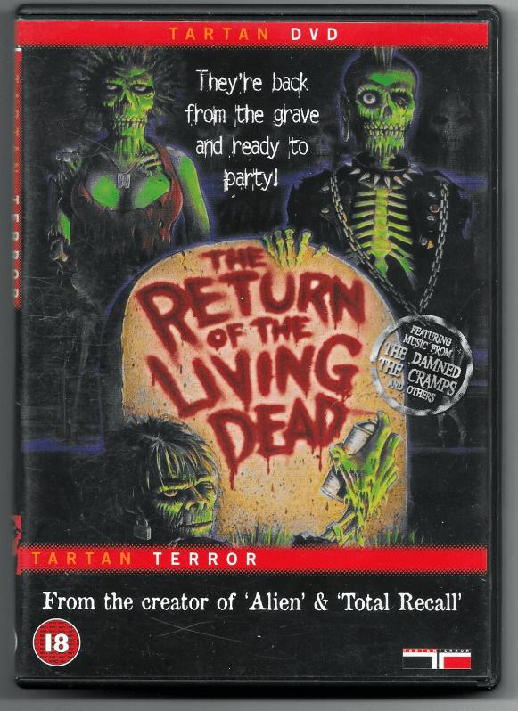 Tartan DVD, Front.