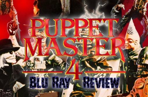 Puppet Master 4 Blu Ray