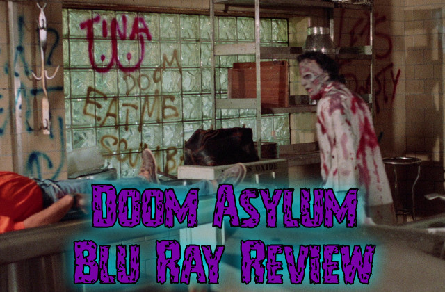 Doom Asylum Blu Ray (Arrow, reg free)