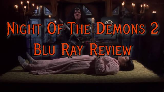 Night Of The Demons 2 (UK Reg B Blu Ray)