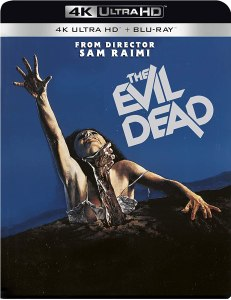The Evil Dead 4k UHD