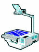 overhead projector(s) (OHP)