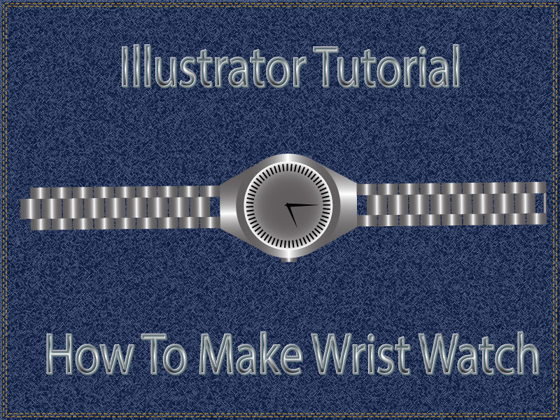 Design watch in Illustrator