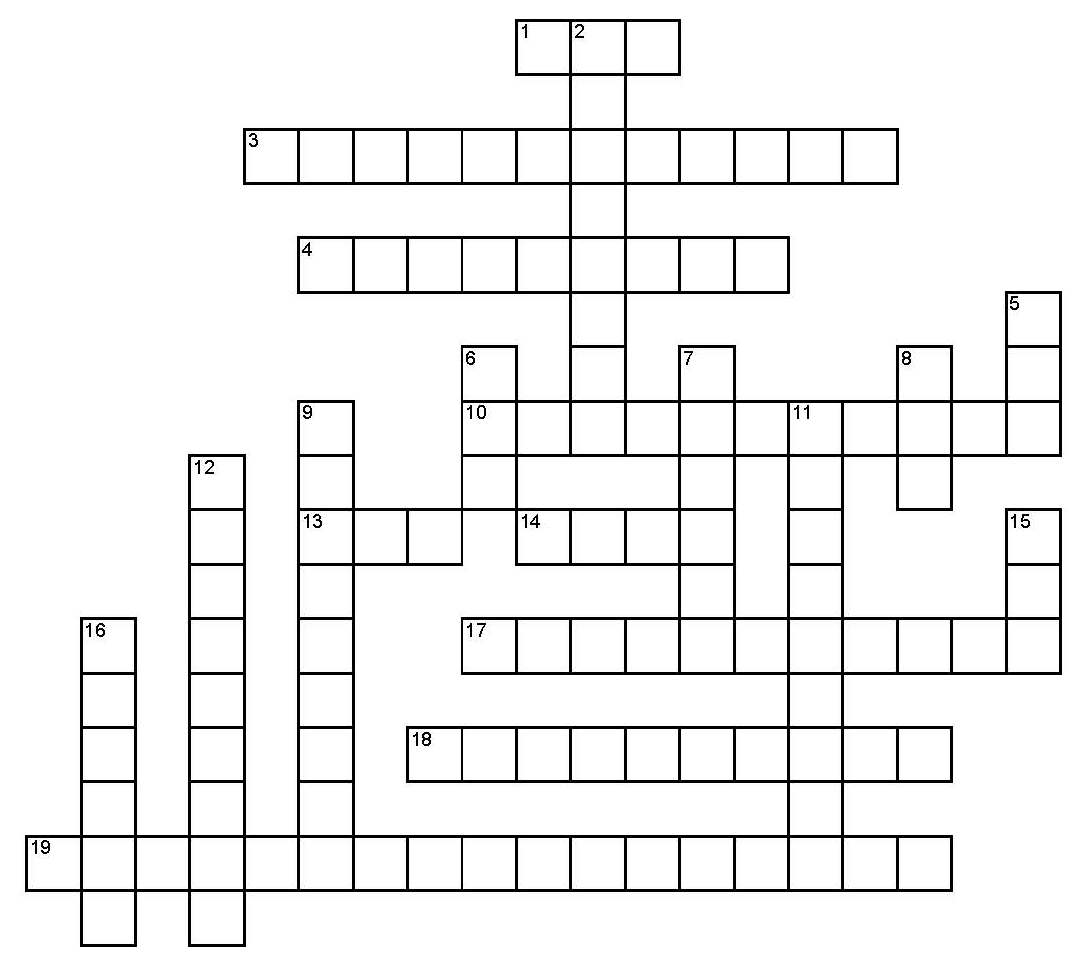 Crossword Puzzles For Begginers Crossword Puzzles For
