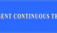 Present Continuous Tense Definition and Examples