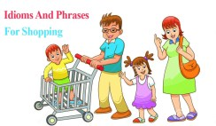 Idioms And Phrases For Shopping