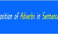 Position of Adverbs Rules